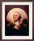 George Washington  Portrait Which Hangs at His Home in Mount Vernon  Virginia