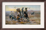 When Sioux and Blackfeet Met  Battle Between the Sioux and Blackfeet Indians  1902