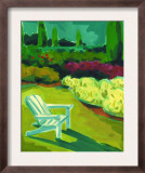 Adirondack Chair in Garden