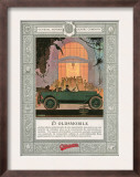 Oldsmobile  Magazine Advertisement  USA  1920