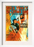 Dick Tracy Vs Crime Inc  Front: Ralph Byrd in 'Chapter 1: the Fatal Hour'  1941