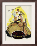 Votrix Vermouth  Magazine Advertisement  UK  1951