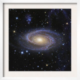 Messier 81  or Bode's Galaxy  is a Spiral Galaxy Located in the Constellation Ursa Major