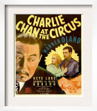 Charlie Chan at the Circus  Warner Oland  Shirley Deane  John Mcguire on Window Card  1936