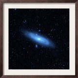 Andromeda Galaxy's Older Stellar Population in Blue