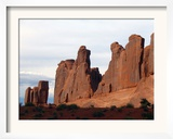 A Towering Canyon in Arches National Park Called Park Avenue Because It Resembles a City Skyline