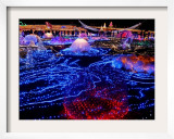 Visitors Walk Through Christmas Illuminations at a Tokyo Park  Japan