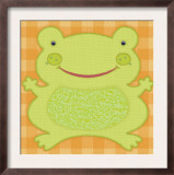 Needlepoint Frog