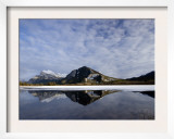 View of Mount Rundle  Sulphur Mountain  and Vermilion Lakes in Banff National Park  Alberta  Canada