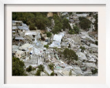View of Port-Au-Prince  Haiti  after a Magnitude 7 Earthquake Hit the Country