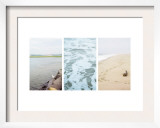 Coastal Patterns Triptych