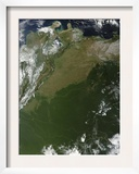 Satellite View of Eastern Columbia and Northern Venezuela