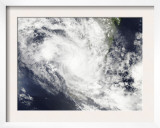 Tropical Cyclone Fami Hovers over Madagascar and the Mozambique Channel