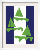 Green Sail Boats