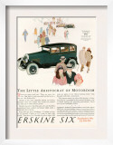 Erskine Six  Magazine Advertisement  USA  1927
