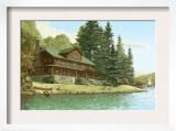 Large Cabin Beside Water
