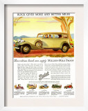 Buick Division of General Motors  Magazine Advertisement  USA  1930