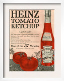 Heinz  Magazine Advertisement  USA  1910