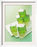 Green Dice and Cards