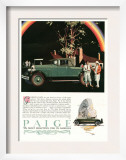 Paige  Magazine Advertisement  USA  1927