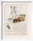 Cadillac La Salle  Magazine Advertisement  USA  1929