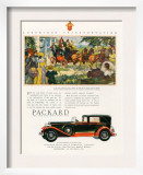 Packard  Magazine Advertisement  USA  1930