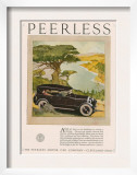 Peerless  Magazine Advertisement  USA  1924