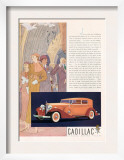 Cadillac  Magazine Advertisement  USA  1933