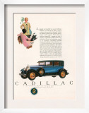 Cadillac  Magazine Advertisement  USA  1927