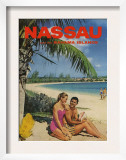 Nassau And Bahama Islands  Magazine Advertisement  UK  1950
