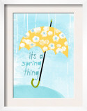 Graphic Spring Umbrella