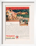 Texaco  Magazine Advertisement  USA  1929