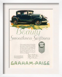 Graham Paige  Magazine Advertisement  USA  1929
