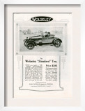 Wolseley  Magazine Advertisement  USA  1923