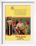 Texaco  Magazine Advertisement  USA  1926