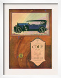 Cole  Magazine Advertisement  USA  1922