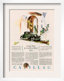 Cadillac  Magazine Advertisement  USA  1928