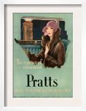 Pratts  Magazine Advertisement  UK  1930