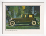Jordan Line Eight Victoria Car  Magazine Advertisement  USA  1925