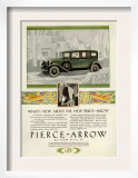 Pierce Arrow  Magazine Advertisement  USA  1928