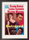 Betrayed  Lana Turner  Clark Gable  Victor Mature  1954