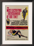 Witness for the Prosecution  Tyrone Power  Charles Laughton  Marlene Dietrich  1957