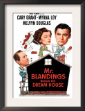 Mr Blandings Builds His Dream House  Melvyn Douglas  Myrna Loy  Cary Grant  1948