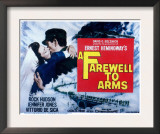 Farewell to Arms  Jennifer Jones  Rock Hudson  1957