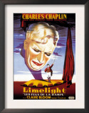 Limelight  French Poster Art  Charles Chaplin  1952