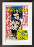 All This and Heaven Too  Bette Davis  Charles Boyer  1940