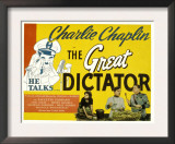 The Great Dictator  Paulette Goddard  Charles Chaplin  Jack Oakie  1940