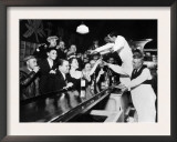 Sloppy Joe&#39;s Bar  in Downtown Chicago  after the Repeal of Prohibition December 5  1933