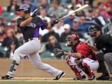 Colorado Rockies v Arizona Diamondbacks  SCOTTSDALE  AZ - FEBRUARY 26: Jose Lopez