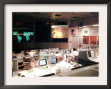Apollo 13 Mission Operations Control Room  Mission Control Center  April 13  1970